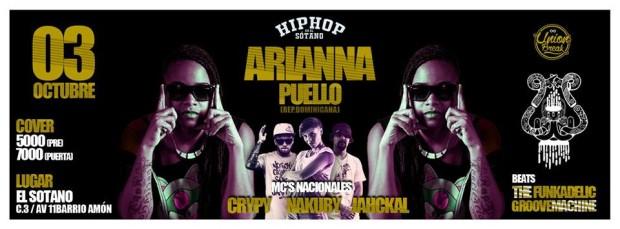 Ariana Puello en el Sotano