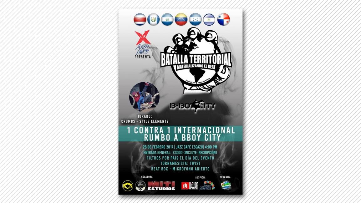 Batalla Territorial Internacional 2017[Actividad]