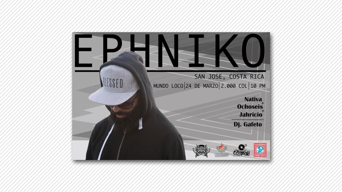 Ephniko en Costa Rica[Actividad]