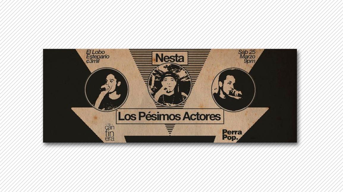 Nesta y Los Pésimos Actores en concierto[Actividad]
